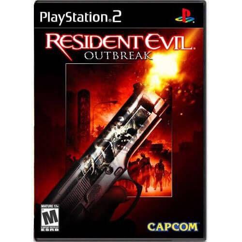 Resident Evil Outbreak Seminovo – PS2