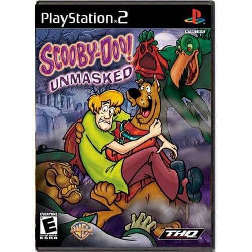 Scooby-Doo Unmasked Seminovo – PS2