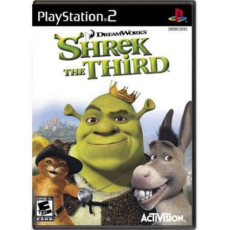 Shrek The Third Seminovo – PS2