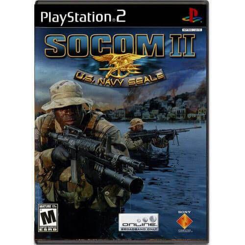 Socom 2 U.S. Navy Seals Seminovo – PS2