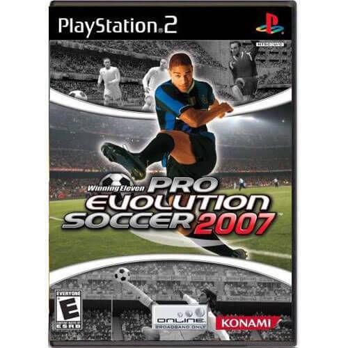 Winning Eleven Pro Evolution Soccer 2007 Seminovo – PS2