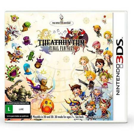 Final Fantasy Theatrhythm – 3DS