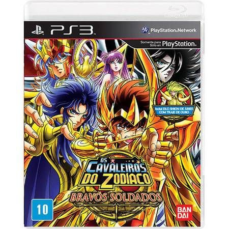 Cavaleiros Do Zodiaco: Bravos Soldados – PS3