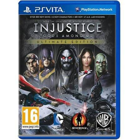 Injustice God Among Us Ultimate Edition – PS VITA
