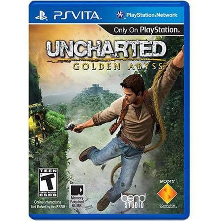 Uncharted Golden Abyss – PS VITA