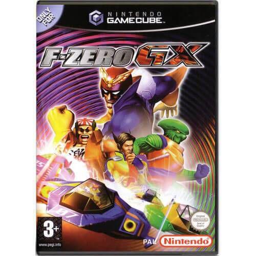 F-Zero GX Seminovo – Nintendo GameCube