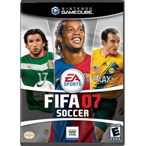 FIFA 07 Soccer Seminovo – Nintendo GameCube