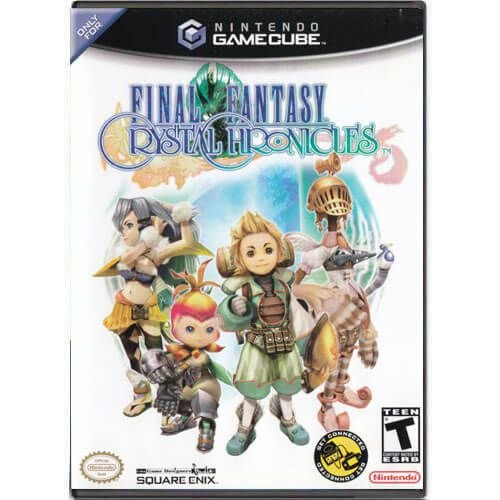 Final Fantasy Crystal Chronicles Seminovo – Nintendo GameCube