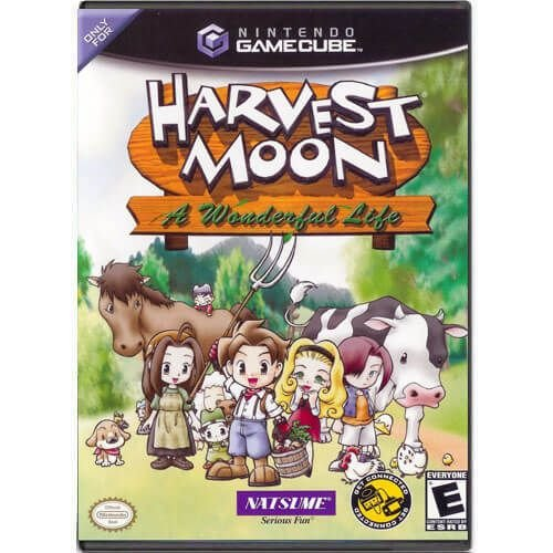 Harvest Moon A Wonderful Life Seminovo – Nintendo GameCube