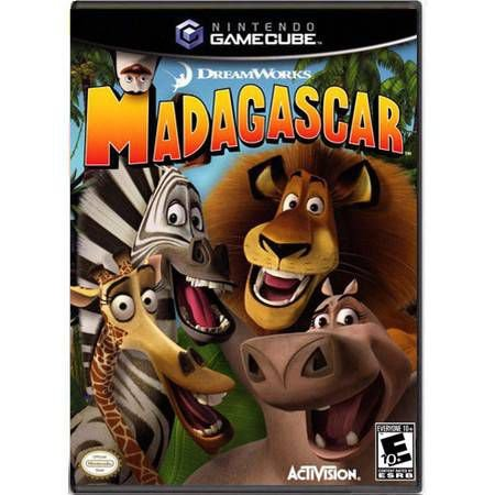 Madagascar Seminovo – Nintendo GameCube