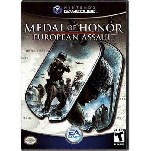 Medal Of Honor European Assault Seminovo – Nintendo GameCube