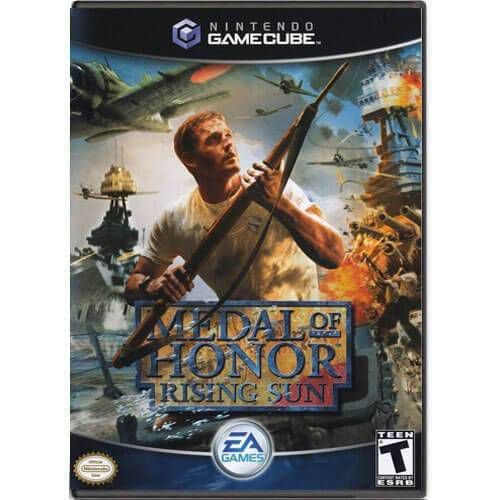 Medal Of Honor Rising Sun Seminovo – Nintendo GameCube