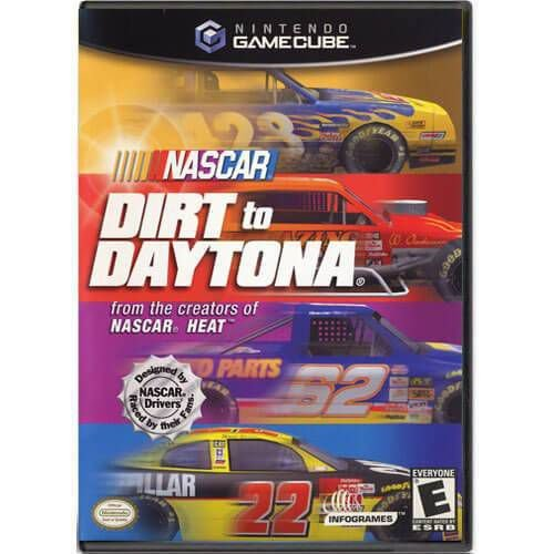 Nascar Dirt To Daytona Seminovo – Nintendo GameCube