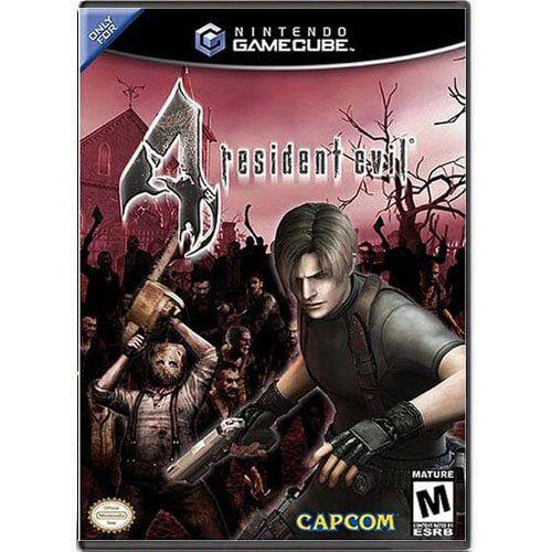 Resident Evil 4 Seminovo – Nintendo GameCube