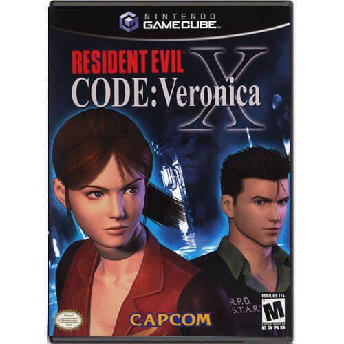 Resident Evil Code Veronica X Seminovo – Nintendo GameCube