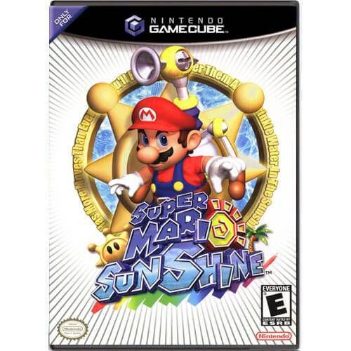 Super Mario Sunshine Seminovo – Nintendo GameCube