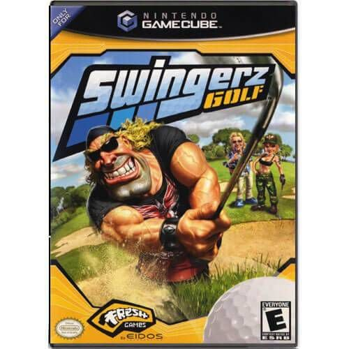 Swingerz Golf Seminovo – Nintendo GameCube