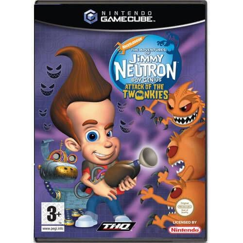 The Adventures Of Jimmy Neutron Seminovo – Nintendo GameCube