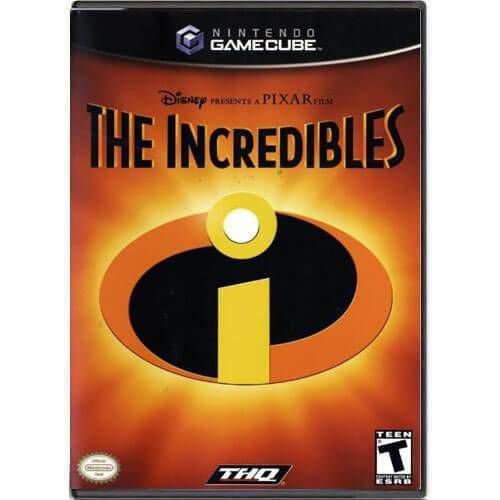 The Incredibles Seminovo – Nintendo GameCube
