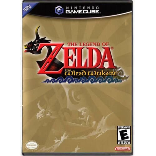 The Legend of Zelda The Wind Waker Seminovo – Nintendo GameCube