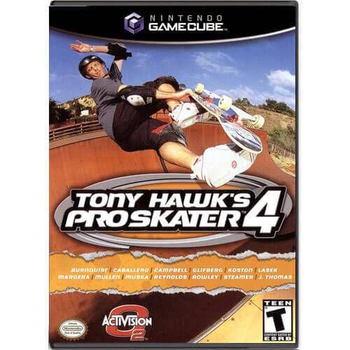 Tony Hawk's Pro Skater 4 Seminovo – Nintendo GameCube
