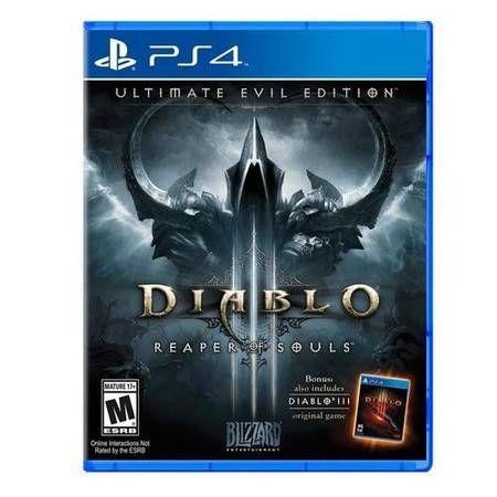Diablo 3 Reaper Of Souls Ultimate Evil Edition Seminovo - PS4
