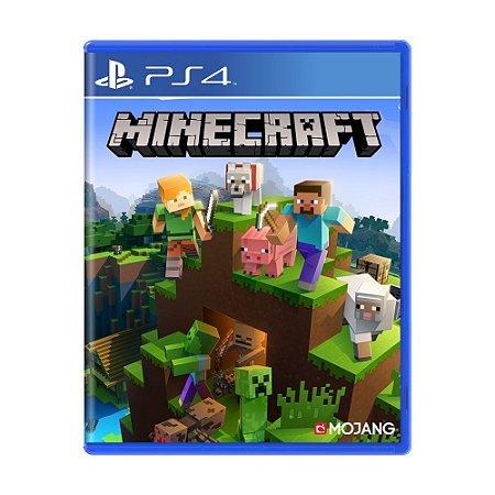 Minecraft Seminovo - PS4