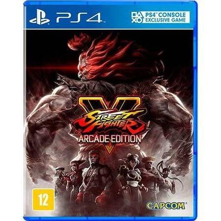 Street Fighter V Arcade Edition Seminovo - PS4