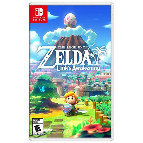 The Legend Of Zelda Link's Awakening Seminovo - Nintendo Switch