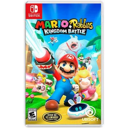 Mario + Rabbids Kingdom Battle Seminovo - Nintendo Switch
