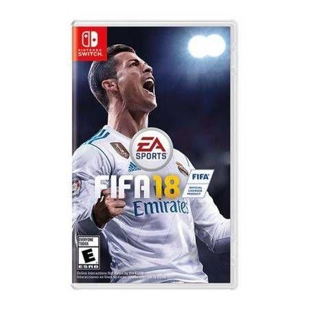 Fifa 18 Seminovo - Nintendo Switch