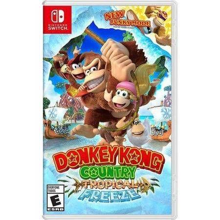Donkey Kong Country Tropical Freeze Seminovo - Nintendo Switch