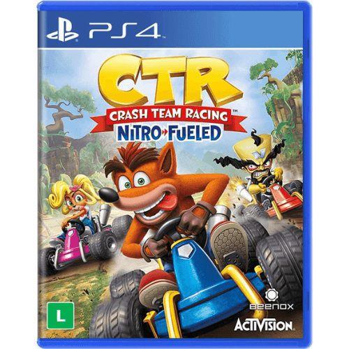 CTR Crash Team Racing Nitro Fueled Seminovo – PS4