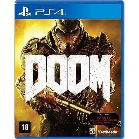 Doom Seminovo - PS4