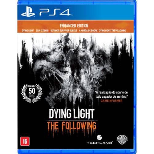 Dying Light The Following Seminovo - PS4