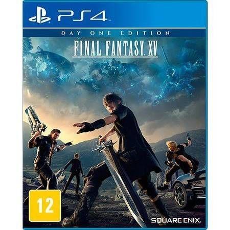 Final Fantasy XV Day One Edition Seminovo – PS4