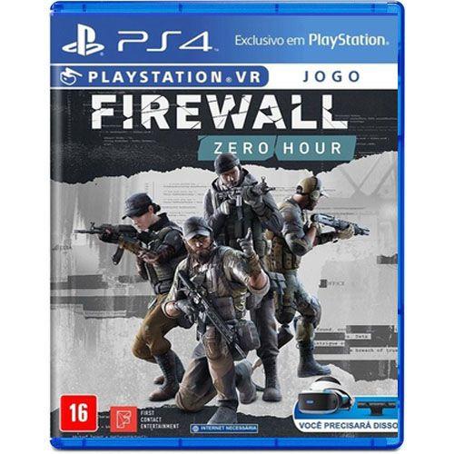 Firewall Zero Hour PS VR Seminovo – PS4