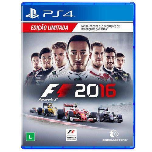 Formula 1 F1 2016 Seminovo - PS4