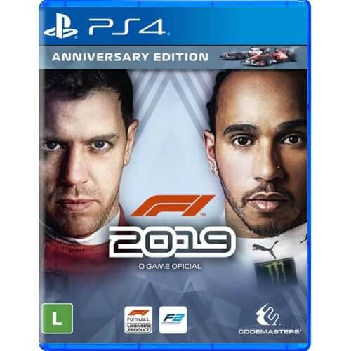 Formula 1 F1 2019 Anniversary Edition Seminovo – PS4