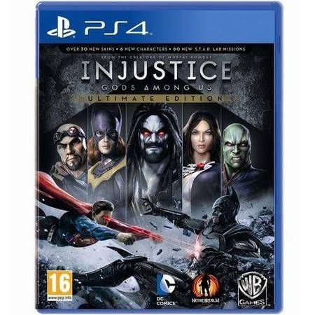 Injustice Gods Among Us Ultimate Edition Seminovo - PS4