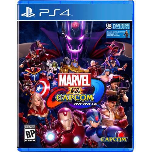 Marvel Vs Capcom Infinite Seminovo - PS4
