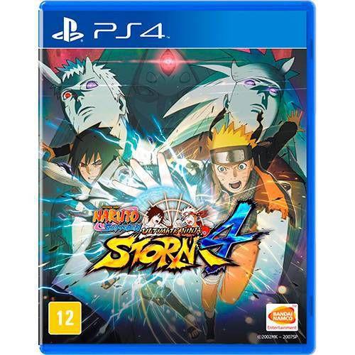 Naruto Shippuden Ultimate Ninja Storm 4 Seminovo - PS4