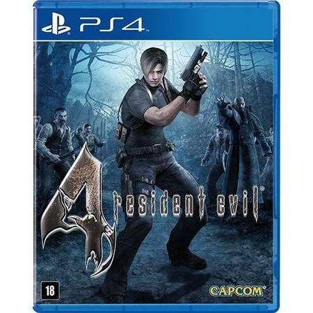 Resident Evil 4 Seminovo - PS4