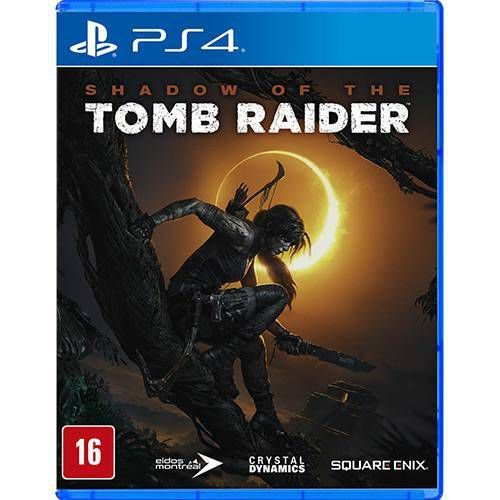 Shadow of the Tomb Raider Seminovo - PS4