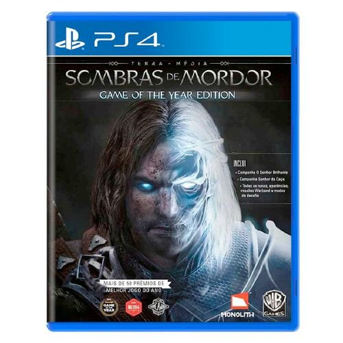Terra-Média: Sombras de Mordor GOTY Edition Seminovo - PS4