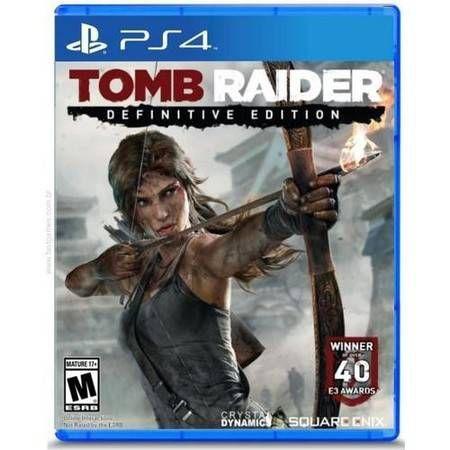 Tomb Raider: Definitive Edition Seminovo - PS4