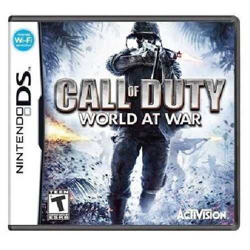 Call of Duty World at War Seminovo - DS