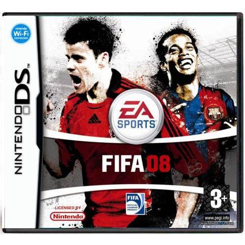 Fifa Soccer 08 Seminovo - DS