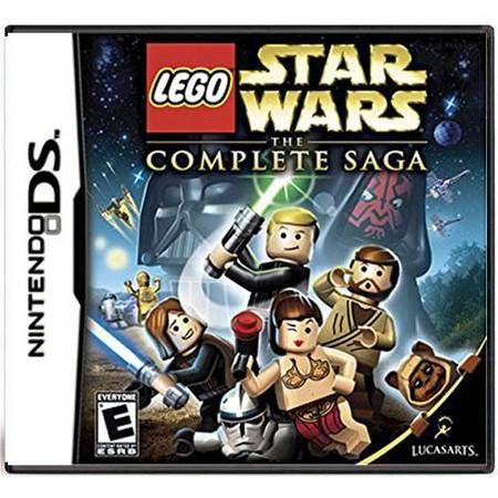 Lego Star Wars The Complete Saga Seminovo - DS