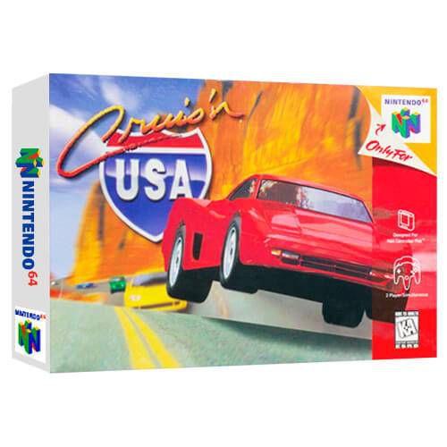 Cruis'n Usa Seminovo - Nintendo 64 - N64